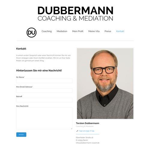 Webseite |Torsten Dubbermann