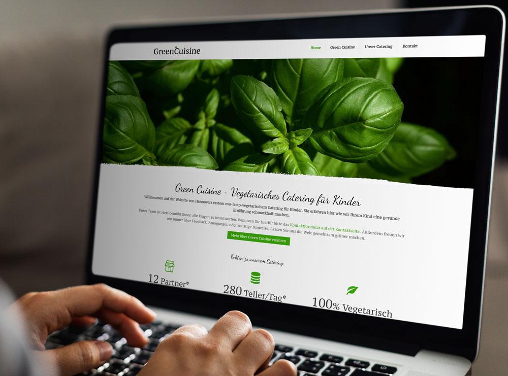 Green Cuisine Website